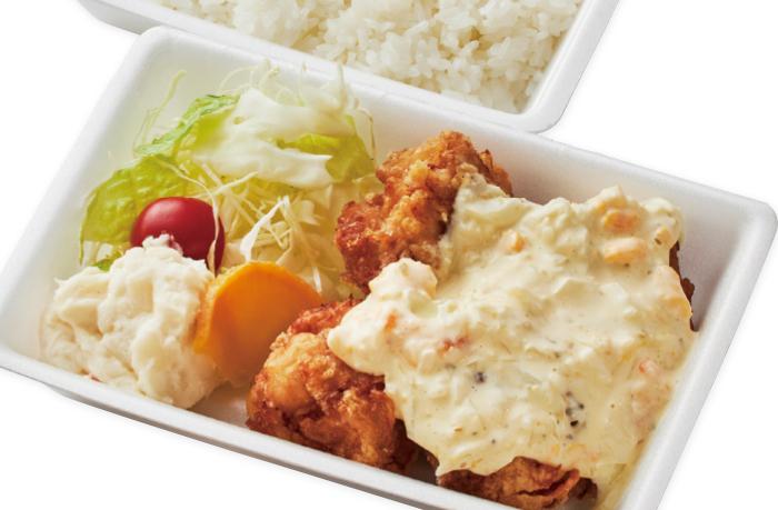 チキン南蛮弁当(4個入り)